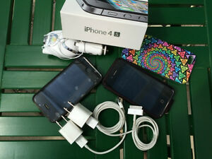 ESTATE SALE! 2 iphones 4s