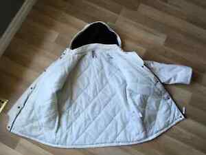 White Winter Coat - only worn a couple of times