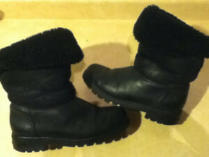 Women's Sorel Black Winter Boots Size 7.5 London Ontario image 7