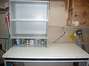 Work Bench 61 inches W X 30 inches D X 31 inches H