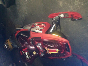 Parting out 2005 mxz 600sdi with e start & up seat