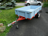Heavy Duty Folding Utility Trailer, 1180 lb. Capacity