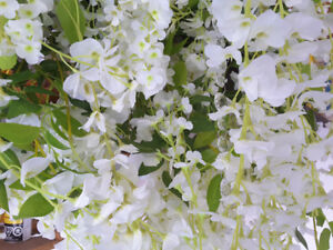 Floral Chandelier Decor