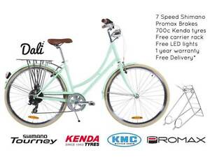 NIXEYCLES Vintage Dali 7sp Bicycle   Free Delivery* Sydney City Inner Sydney Preview