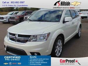 2013 Dodge JOURNEY RT *AWD/7 SEATS/LEATHER/NAV*