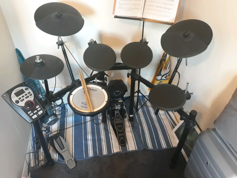 Electronic drum kit Roland TD11-K with, Tama Iron Cobra foot pedal | in  Neasden, London | Gumtree
