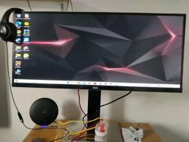 Sale AOC 34 inch full hd monitor