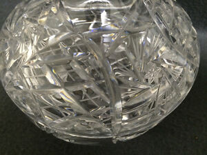 Collectible Antique Pinwheel Crystal Covered Candy Dish London Ontario image 8