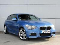 2013 BMW 1 SERIES 120d M Sport Bluetooth GBP30 Tax 1 Owner Rainsensor