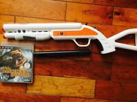 Cabalas hunting game with gun perfect cond