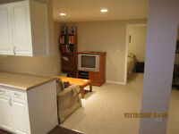 Fully Furnished & equipped 2 Bdrm Basement Suite