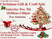3rd Annual Cooksville Christmas Gift & Craft Sale