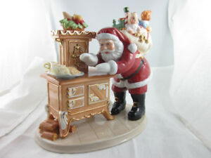 Rare Christmas Royal Doulton - Cookies for Santa, Mint Figurine