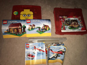 Various LEGO Creator Sets