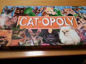 Catopoly (like monopoly) game for cat lovers Kitchener / Waterloo Kitchener Area image 1