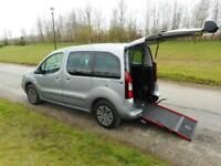 2016 66 Peugeot Partner Tepee 1.6 Tdi 3K Automatic WHEELCHAIR ACCESSIBLE VEHICLE