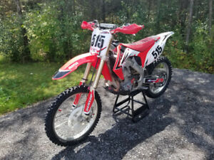 2012 Crf450r Clean, tight and fast. Buying a SxS...
