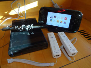 Wii U 32 GB Deluxe - Mint condition