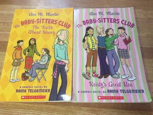 2 Baby-Sitters Club Graphic Novels #1 & 2
