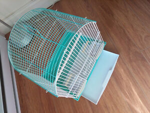 CAGE POUR OISEAU,WITH 3 SLIDING DOOR/ AND KIT