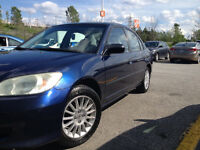2004 Honda Civic Automatique + Ac