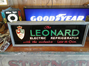 Leonard Refrigeration SIGN