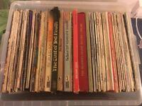 Box full of records
