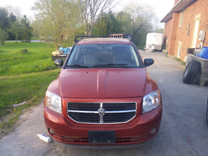 08 dodge caliber. cert and etested