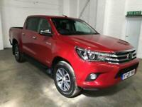 2020 20 TOYOTA HI-LUX DOUBLE CAB 2.4 INVINCIBLE 4WD D-4D 150PS AUTO DIESEL