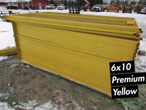 6x10 6x8 FAST FENCE / TEMPORARY FENCE PANELS / CONSTRUCTION JOB