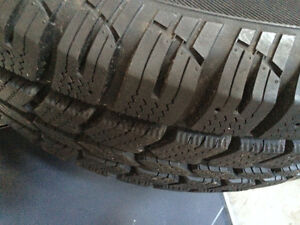 235/70/R16 Winter Tires on Rims Cambridge Kitchener Area image 3