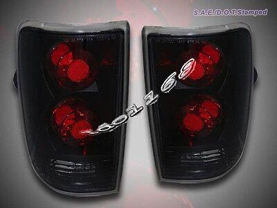 95-04 Chevy S10 Blazer Jimmy Tail Lights Dark Smoke 96 97 -