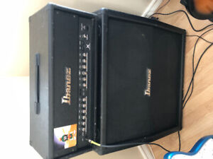 Ibanez TBX150H and 4x12 cab