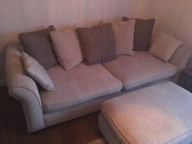 4 seater cloth sofa