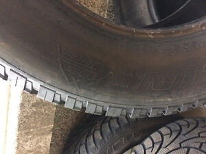 245/65R17 Michelin Cross Terrain Tires