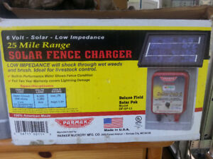 Farm/Garden  165' Fencing   Solar charger all posts Package deal