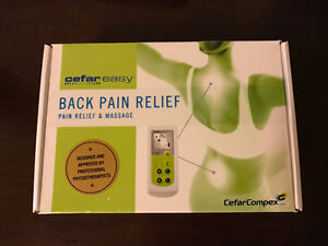 Cefar Easy Muscle Pain Relief TENS Machine Brand New