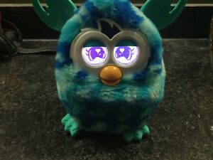Furby -blue waves