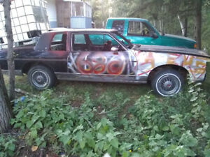 Pontiac Parisiene 300 obo derby car already striped