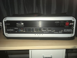 Matrix GT800FX in 2U Rack with Power Conditioner