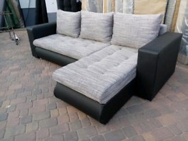 SAME DAY DELIVERY BRAND NEW CORNER SOFA BED READY TO DELIVER