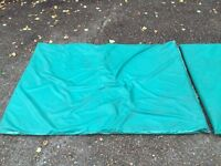 Pair of Large Bouncy Castle / Gym Mats
