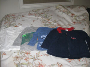 T shirts and a jacket for 2-3 years old boy