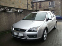 08 08 FORD FOCUS 1.6 16V ZETEC CLIMATE 5DR BODYKIT ALLOYS AIRCON SPORTS SEATS