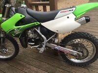 Kawasaki kx85 big wheel Moto x field bike off road
