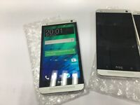 HTC M7 32GB unlocked, excellent condition, silver and black