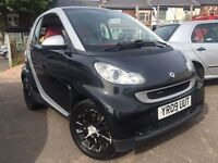 Smart Car Fortwo 1.0 BRABUS Mhd 2009 + LOW MILES + LEATHER SEATS + MOT FEB 2017