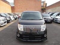 2005 NISSAN ELGRAND 3.5 V6 8 SEATER Highway Star TWIN SUNROOF 4WD