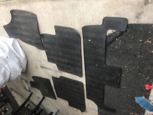 Dodge Caravan Heavy Duty Rubber Floor Mats (Complete Set)