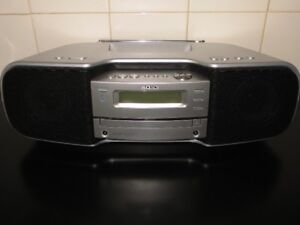 Sony Personal Audio System Sirius Ready, XM Ready. ZS-SAT1CP.